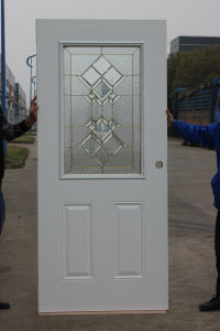 Half Moon Fanlite Glass Four Panel Steel Glass Door pictures & photos