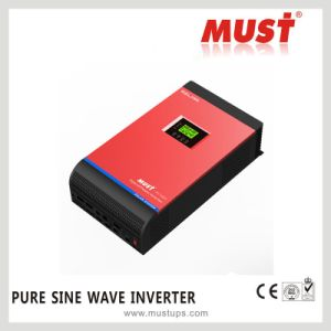 3kVA 2400W 48V High Frequency 220VAC Solar Power Inverter with 60A MPPT Controller pictures & photos