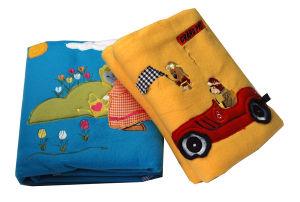 100%Polyester Embroidery Anti-Pilling Children Baby Polar Fleece Blanket