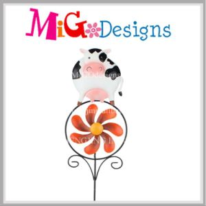 Beautiful Pig Garden Wind Spinner Stake-OEM pictures & photos