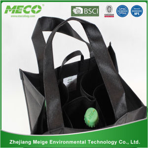 Recyclable Bottle Non Woven Wine Bag (MECO118) pictures & photos