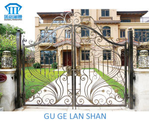 High Quality Crafted Wrought Iron Gate 049 pictures & photos