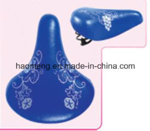 Colorful Blue Saddle with Painting pictures & photos
