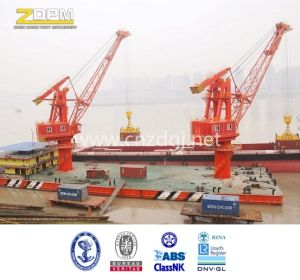 Marine Floating Boat Crane Hydraulic Crane pictures & photos