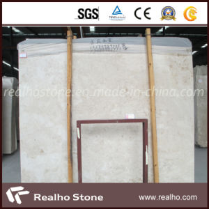 Natural Beige Polished Cappuccino Marble Slab