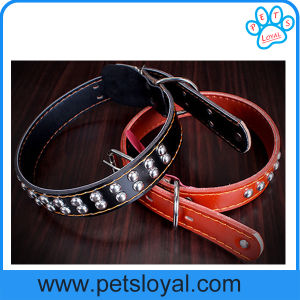 Pet Dog Accessories, Leather Pet Dog Collar (HP-106) pictures & photos