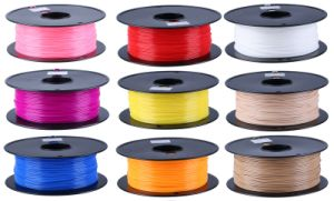 PLA Filament for 3D Printing / 1.75mm/3mm 3D Printer Filament pictures & photos