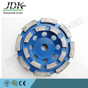 Double  Row Diamond Cup Wheel for Granite Grinding pictures & photos