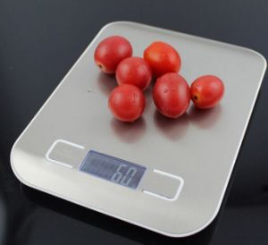 Stainless Steel 5kg Kitchen Scale pictures & photos