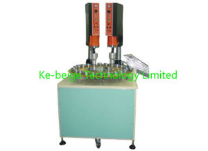 Automatic Rotary Ultrasonic Welding Machine with 15kHz Two Welding Heads pictures & photos