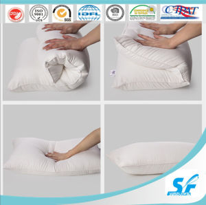 Wholesale Hotelcotton Polyester Pillow pictures & photos