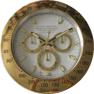 Decoration Design Cheap Wrist Watch Clock Metal Antique Clock (T6111G-2)