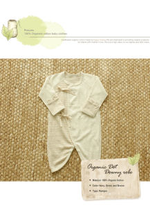 Nature Fashion Organic Baby Kimono with Organic Certification From China pictures & photos