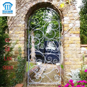 High Quality Crafted Wrought Single Iron Gate 032 pictures & photos