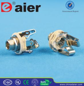 Stereo 1/4′′ Skeleton Jack Closed Type Jack Plug pictures & photos