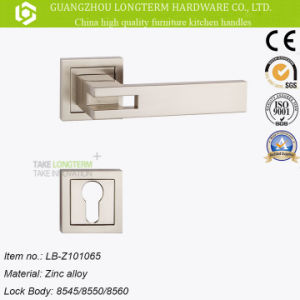 Mortise Zinc Alloy Door Lever Handle Lock pictures & photos