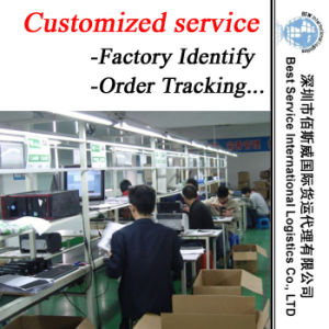 Customized Service (factory indentify, quality inspection, communication, order tracking, shipping) pictures & photos