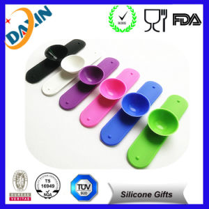 Newly 3m Sticker Silicone Mobile Phone Card Holder Phone Stand pictures & photos