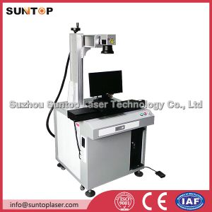 Portable Newly Fiber Laser Rotary Writing Machine for Jewelry Parts Engraver with Rotary pictures & photos
