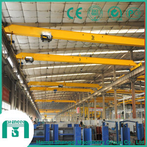 HD Type Single Girder Overhead Crane with Lowhead Room Hoist pictures & photos