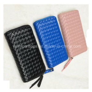 Cheap Custom Lady PU Wallet Wholesale Woman Purse pictures & photos