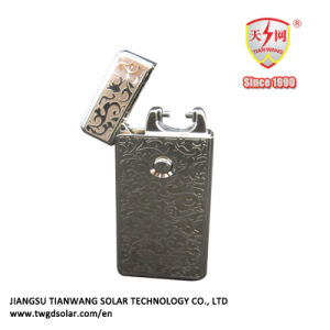 Low-Carbon Fashion Electric Arc Rechargeable Cigarette Windproof Lighter pictures & photos