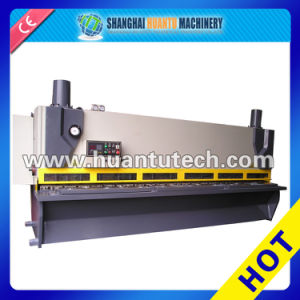 CNC Hydraulic Guillotine&Swing Beam Metal Sheet Cutting Machine pictures & photos