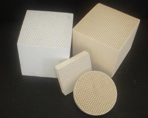 Honeycomb Ceramic Heater for Rto Ceramic Honeycomb Substance pictures & photos