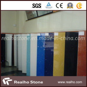 Polished Artificial Quartz Stone Tile for Wall/Floor pictures & photos