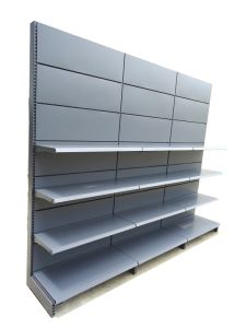 Metal Gondola Shelving with 4 Shelves pictures & photos