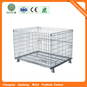 Wholesale Foldable Warehouse Storage Container with Wheels pictures & photos