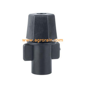 Raw Material POM Bridgeless Design Four Outlet Fogger Super Fine Mister Green pictures & photos