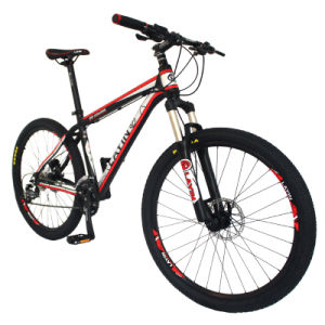 """Hot Sale 26"""" 27sp Red Aluminum Mountain Bike pictures & photos"""