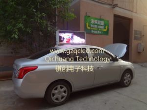 P3mm HD Taxi Top Full Color Video LED Video Display pictures & photos