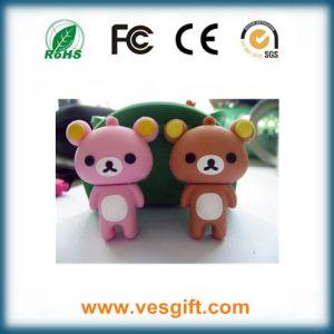 USB Memory PVC Bear Promotional USB Flash Drive USB Disk pictures & photos