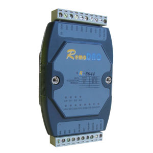 R-8044/8044+ 4-Channel Isolated Digital Input/8-Channel Open Collector Output Module pictures & photos