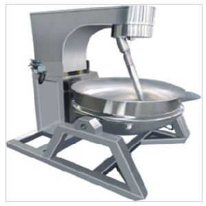 Stainless Steel Jacket Pan with Agitator