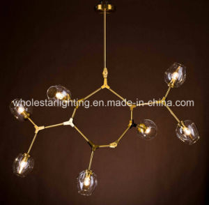Modern Glass Chandelier Lamp (WHG-180) pictures & photos