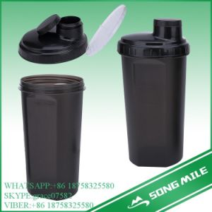 700ml Single Wall Plastic Shaker Bottle pictures & photos