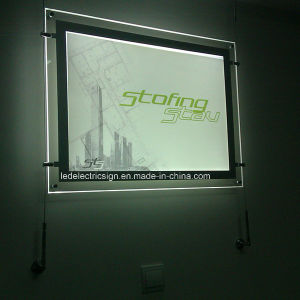 LED Light Box Sign Acrylic Display Acrylic Sign Board pictures & photos