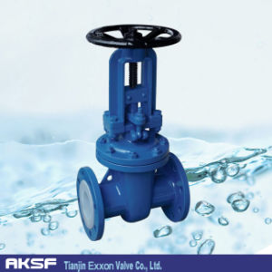 Fully PTFE Lining Seat Gate Valve pictures & photos