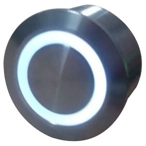 Pushbutton Switch with LED 22mm Diameter