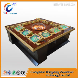 Spainish Version Casino Game Roulette Machine with Import Roulette Wheel pictures & photos