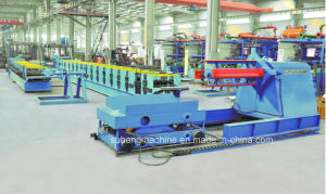 10 Ton Hydraulic Decoiler with Load Car for Roll Forming Machine pictures & photos
