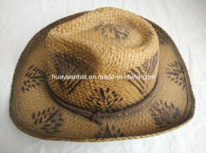 100% Paper Dyed Cowboy Hat pictures & photos