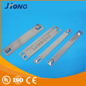 Stainless Steel Cable Clip Marker Plate pictures & photos