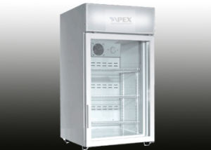 80L Fan Assisted Cooling Counter Top Display Refrigerator with Ce CB RoHS pictures & photos