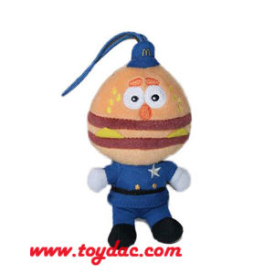 Plush Hamburger Doll Key Ring pictures & photos