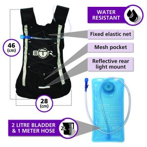 Hydration Pack Backpack with Water Bladder for Hiking Cycling Climbing Camping pictures & photos