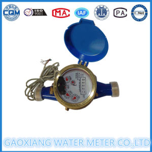 Brass Body Multi Jet Pulse Water Meter with 10L/Pulse pictures & photos